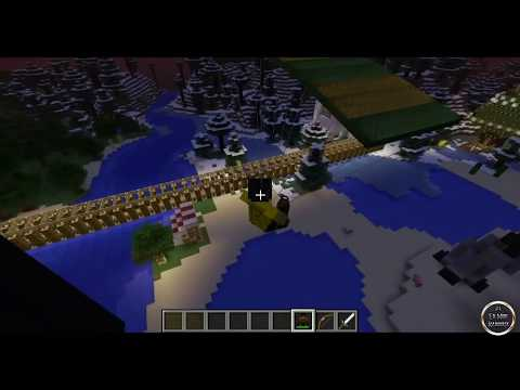 Minecraft 1.7.2 - Review de Parachute MOD - ESPAÑOL TUTORIAL