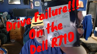 Hard Drive Failure! Drive Bender Replacement Procedure on the Dell R710