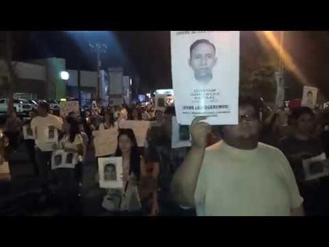 Mexicali repudia desaparición de Estudiantes en AYOTZINAPA