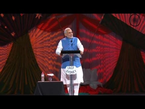 Narendra Modi's Speech At Sydney's Allphones Arena - Part 2