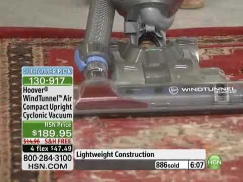 Hoover WindTunnel Air Compact Upright Cyclonic Vacuum