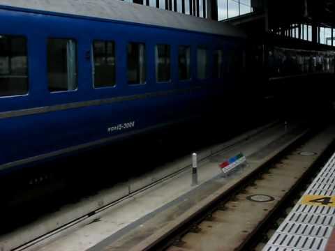 2009/12/6 「リバイバルあかつき」の先頭から最後方まで歩く@武雄温泉駅