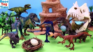 Toy Dinosaurs For Kids - Learn Dino Names Video