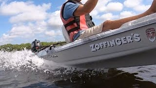 5HP Outboard on a Kayak!