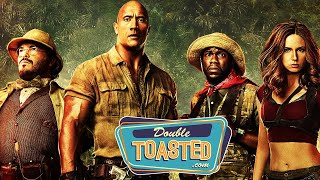 JUMANJI WELCOME TO THE JUNGLE MOVIE REVIEW - Double Toasted Review
