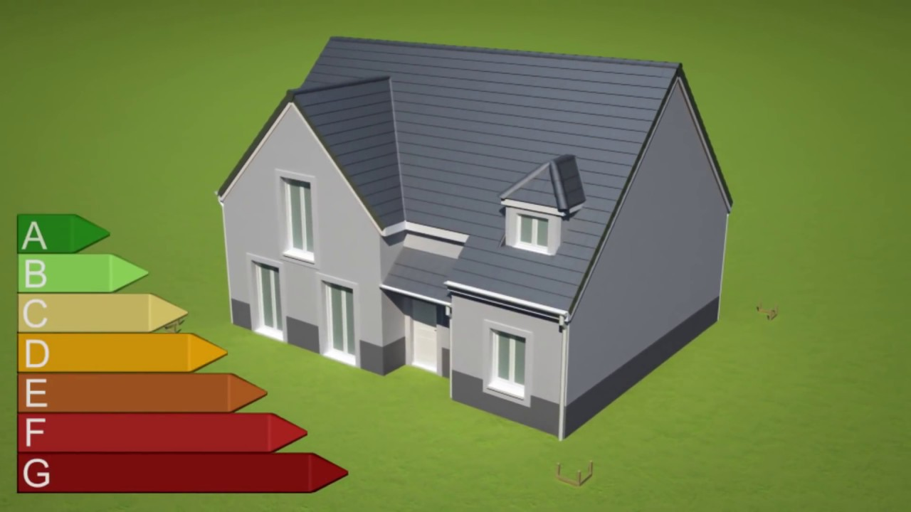 L 39 tude thermique en 3d d 39 une maison neuve individuelle for Expert reception maison neuve