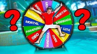 DESAFIO DA ROLETA MISTERIOSA DE SALTOS NA PISCINA ☆ GINCANA DIVERTIDA ☆