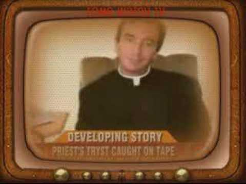 Catholic Priest's Gay Sex Tryst Caught On Tape - Vatican video