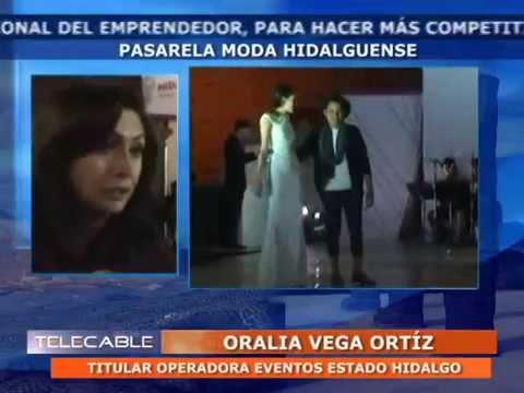 20 10 14 Cápsulas Informativas PMA Pasarela Moda Hidalguense Feria Pachuca 2014 TELECABLE