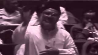 সংসদে মাওলানা নিজামীর অসাধারণ ভাষন