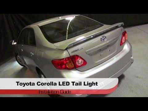 Spyder Auto Installation 2009 10 Toyota Corolla Led Tail