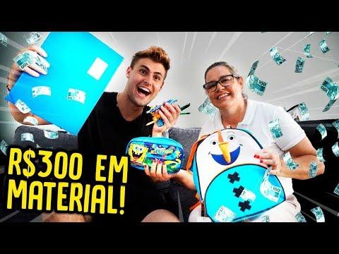 DEI R$300 PARA MINHA MÃE COMPRAR MATERIAL ESCOLAR!! [ REZENDE EVIL ]