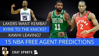 NBA Free Agency: Predicting Where The Top 15 NBA Free Agents Will Sign This Offseason