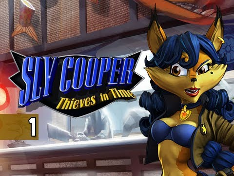 Sly Cooper Thieves in Time Walkthrough - Part 1 Paris Prologue PS3 Sly 4 Gameplay Commentary