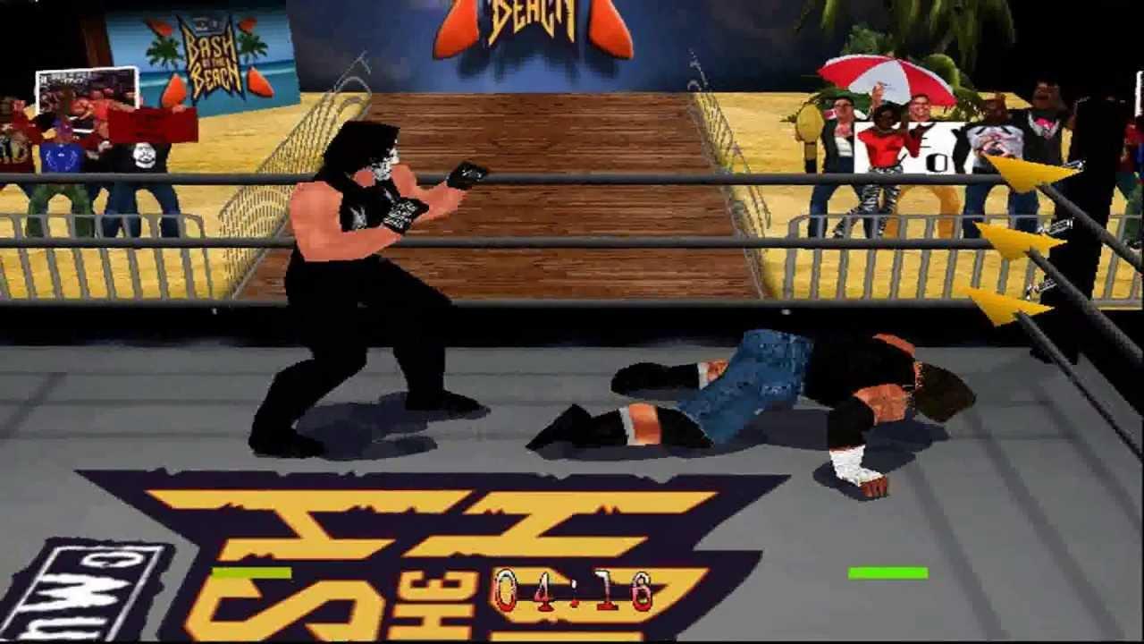 WCW/nWo Revenge HD N64 1080P