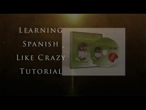 Learning Spanish Like Crazy Level 1 Desktop Tutorial
