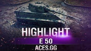 Король рандома на Энске E 50 в World of Tanks!