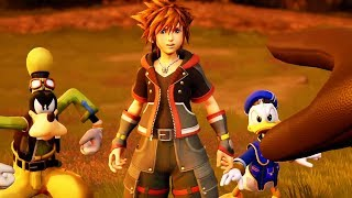 KINGDOM HEARTS 3 GAMEPLAY TRAILER E3 2017 (NEW KH3 GAMEPLAY)