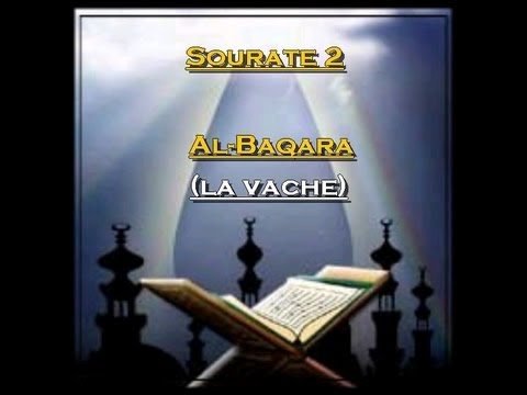 R Citation Du Saint Coran Fran Ais Arabe Sourate 2 ...