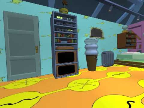 hey arnold 39 s room in 3d youtube
