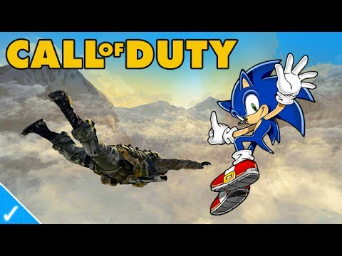 The Celeb Gamer - Sonic plays Black Ops 2