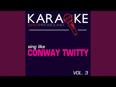 That's My Job (in The Style Of Conway Twitty) (karaoke Instrumental Version) video