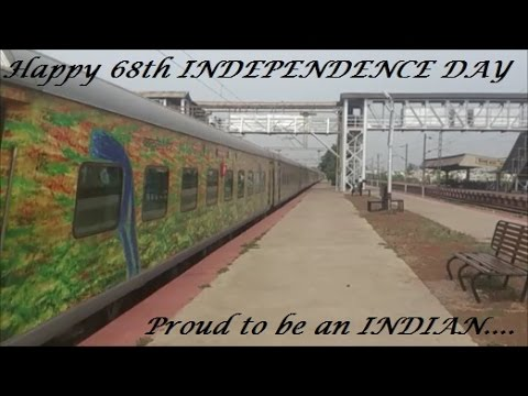 Great Indian Railways 68th Independence Day Special:12 in 1 Mega Compilation!!