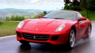 Testing The Ferrari 599 GTB Fiorano HGTE With Sir Stirling Moss - Fifth Gear