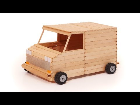 How to Make a Wooden Toy Van