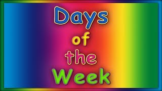 Days of the Week Song | ABC Baby Songs | Learn Days of the Week