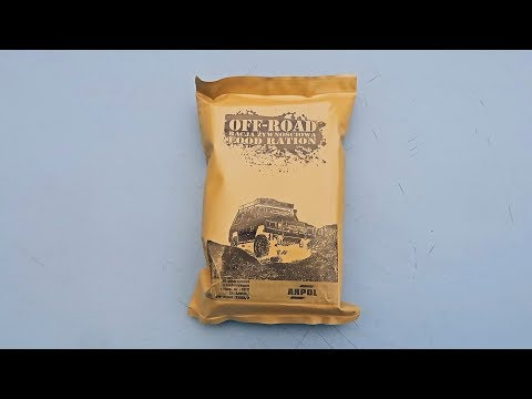 Off Road Food Ration (Meal Ready To Eat)