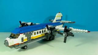 LEGO FERRY HOVERCRAFT PLANE 4997