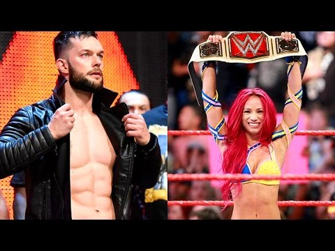 FINN DEBUTS! SASHA WINS TITLE! WWE Raw Results 7/25/16 (Going In Raw Pro Wrestling Podcast Ep. 83)