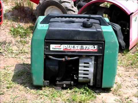 Coleman Powermate 1750 portable generator