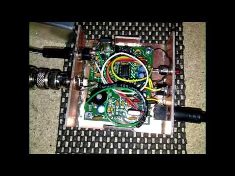 Rockmite 40 Homebrew Ham Radio