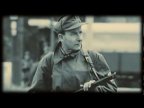 Germany Post War Iron Curtain. The Berlin Wall 1962. Original News Reel Footage Documentary