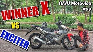 Chạy thử Winner X xem sao. Anh em Exciter cứ bình tĩnh | Motovlog 99