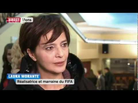 Intervista a Laura Morante, madrina del FIFA di Mons, su rtbf.be
