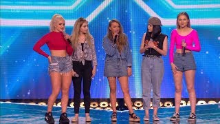 The X Factor UK 2017 New Girl Band Six Chair Challenge Full Clip S14E13