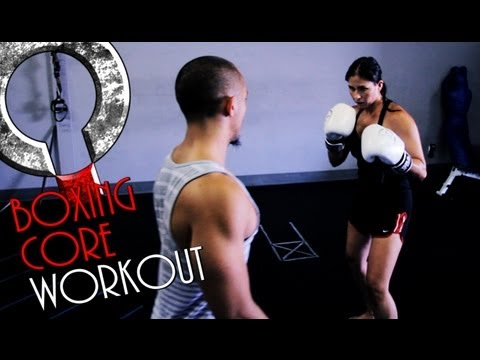 Core Training and boxing workout with MMA fighter Kerry Vera Image 1