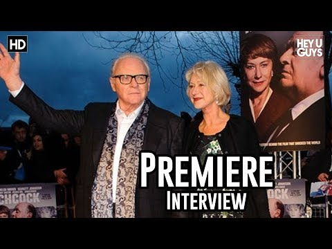 Helen Mirren Interview - Hitchcock Premiere