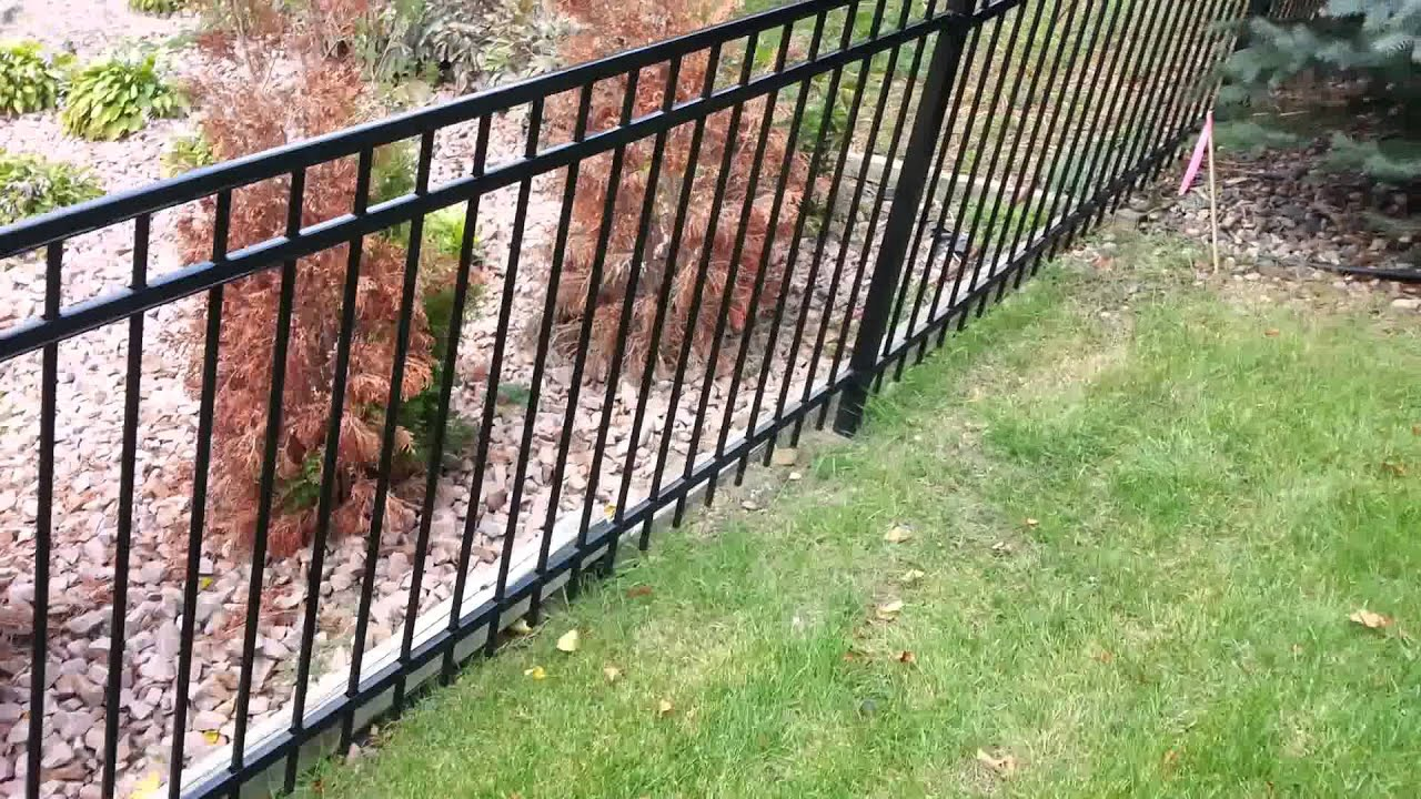 Ornamental Wrought Iron Fence Company Burnsville
