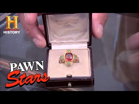 Pawn Stars: 19th Century Roman Catholic Cardinal Ring (Season 7) | History