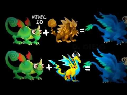 combinaciones de dragones nuevo en dragon city actualizado