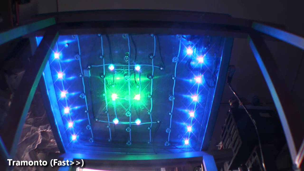 Plafoniera led acquario 2013 youtube for Plafoniera led acquario