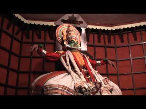 Travel memories... India, Kathakali performance in Kochi, Kerala