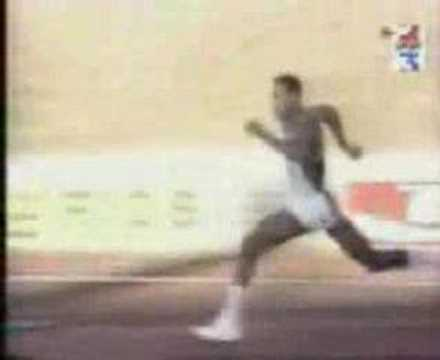 World Record Javier Sotomayor 2.45 High Jump