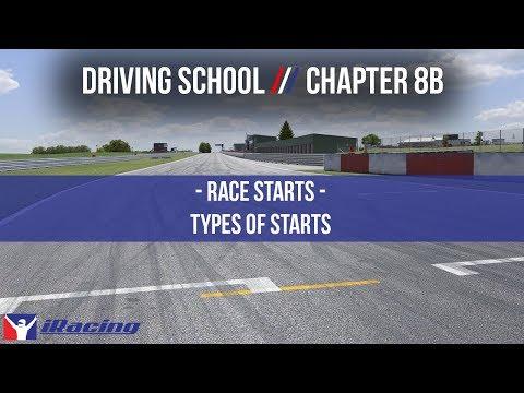 iRacing.com Driving School Chapter 8B: Race Starts