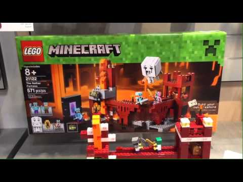LEGO Minecraft Summer 2015 Sets at New York Toy Fair 2015
