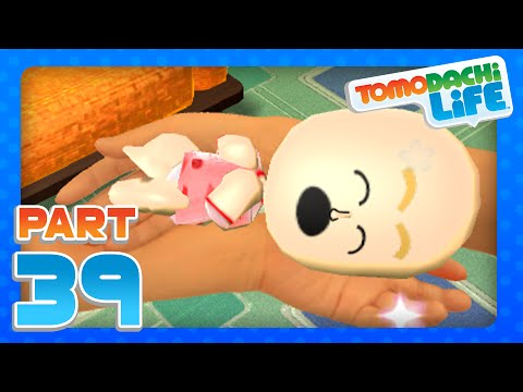 Tomodachi Life - Part 39 - Meet Baby Peyton!  (3DS)